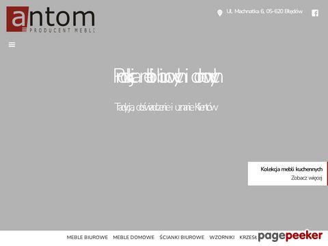 antom.com.pl- meble gabinetowe
