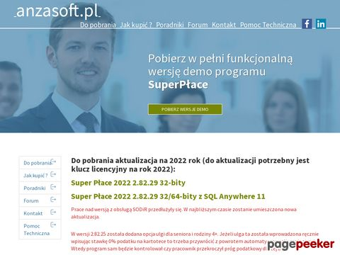 Anzasoft - producent programu SuperPłace