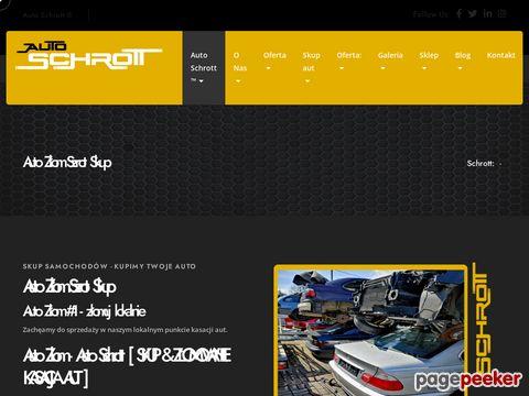 Skup samochodów & Złomowanie Pojazdów. Auto Złom Śląsk
