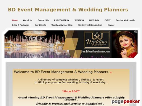 BD Event Management & Wedding Planners