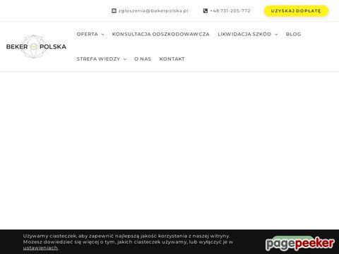 Odszkodowania z AC i OC: sprawdź na Bekerpolska.pl