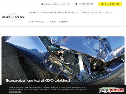 Szybki odkup odszkodowań OC - Beker Polska
