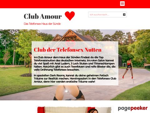 mehr Information : Telefonsex Club Amour