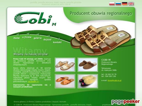 Pantofle regionalne