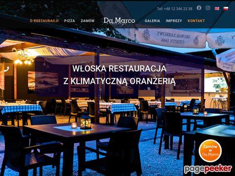 Pizza Kraków - Da Marco