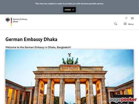 German Embassy Dhaka, Bangladesh