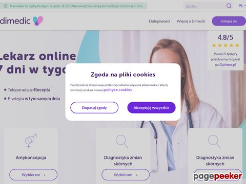Leki na receptę online - dimedic.eu
