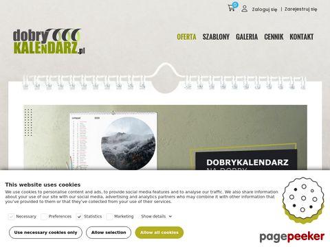 Fotokalendarze online! Dobrykalendarz.pl