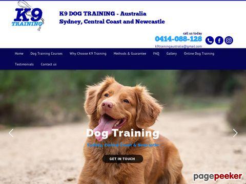 Screeshot of Dog Boarding Australia