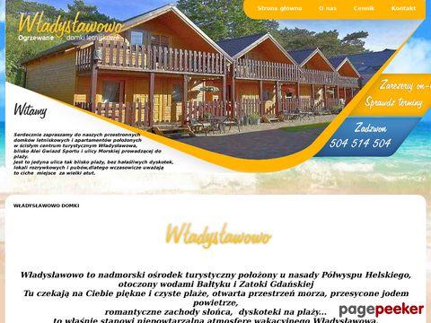 Władysławowo domki ogrzewane Sokół
