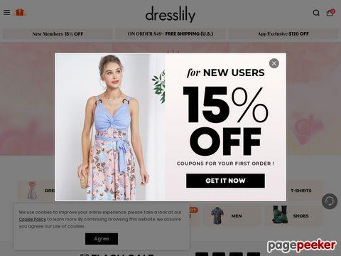 DressLily.com Coupon Codes