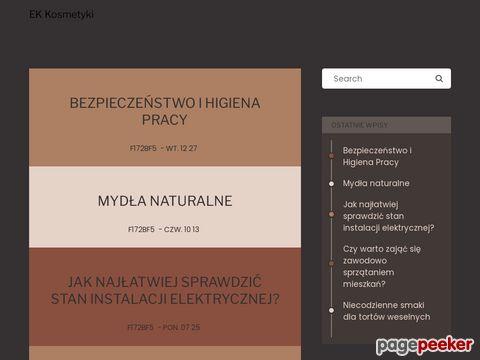 Ek-kosmetyki.pl - kosmetyki naturalne Białystok