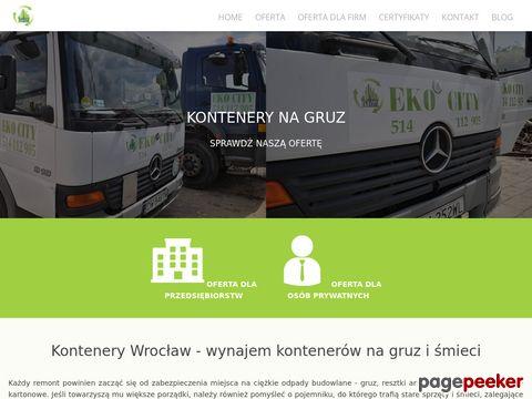 Wywóz gruzu Wrocław