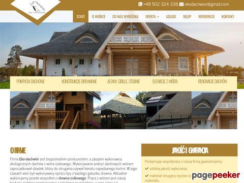 Eko-Dachwiór - dachy ekologiczne