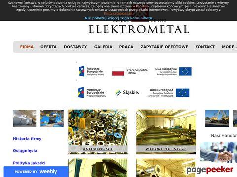 Elektrometal - wyroby hutnicze, blachy