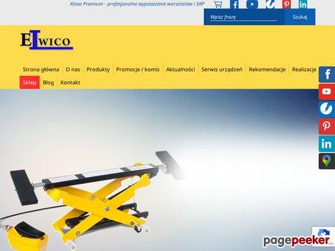 Podnośnik nożycowy - Elwico.com.pl