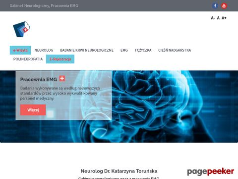 Tężyczka, Badanie EMG, Neurolog Warszawa