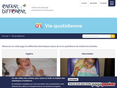 http://www.enfant-different.org/vie-quotidienne