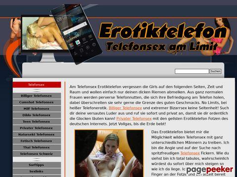 Details : Das Eroti8ktelefon - Telefonsex am Limit