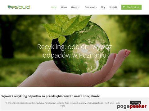 Recykling - esbud.pl