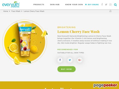 Screeshot of Lamon Face Cleanser For Oily Skin