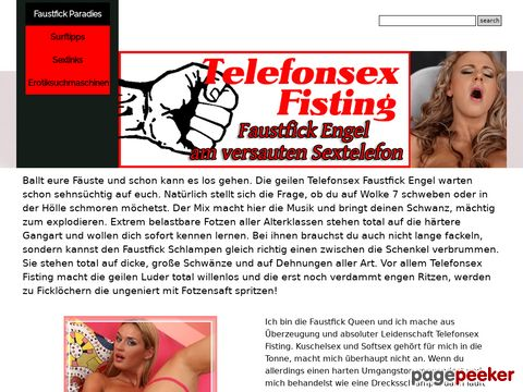 Details : Faustfick Telefonsex