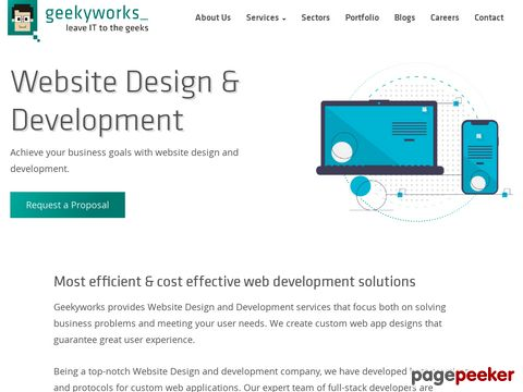 Screeshot of Website Development Company in Pune