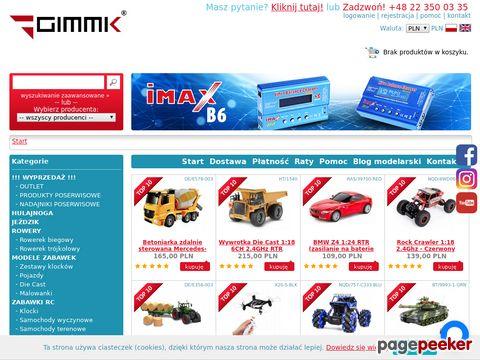 GIMMIK.PL - zabawki i modele RC