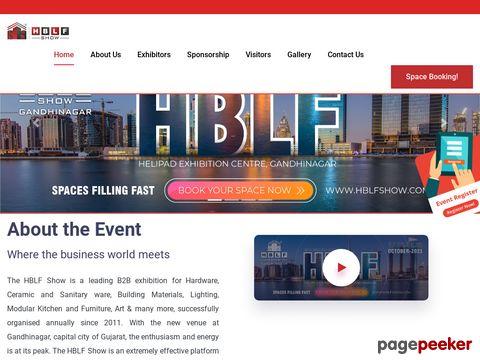 Screeshot of HBLF Show Ahmedabad - Vist website for more details