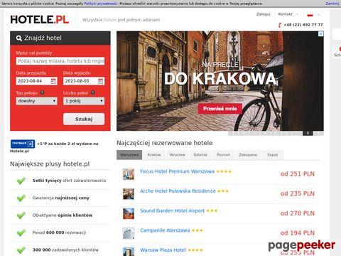 Hotele.pl - hotele w Polsce i na świecie