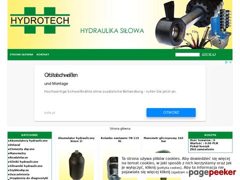 Więcej o stronie : Hydrotech hydraulika siłowa - sklep online