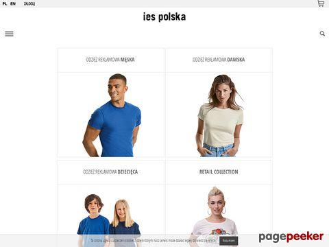 Odzież reklamowa - Ies Polska