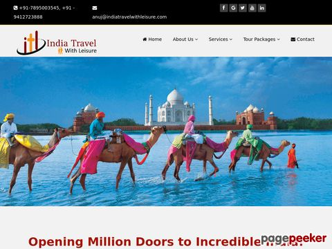 Screeshot of India Travel
