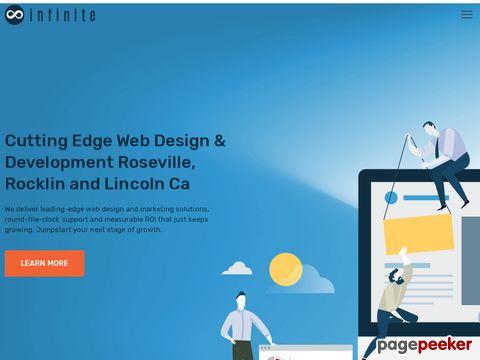 Screeshot of Web Development Sacramento Ca