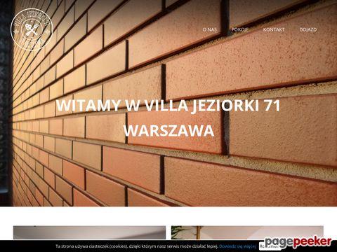 Hostel Jeziorki 71: tani nocleg w Warszawie