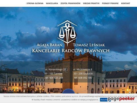 Więcej o stronie : Radcy prawni w Tarnowie: www.kancelaria.tarnow.pl