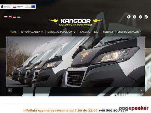Wypożyczalnia samochodów dostawczych Kangoor