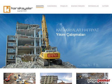Screeshot of Karakayalar Hafriyat ve Altyapı Çalışmaları