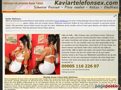 Details : Kaviar Telefonsex Fotzen