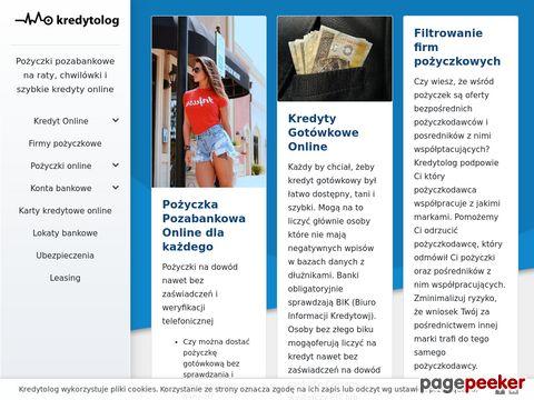 Kredyty i pożyczki - kredytolog