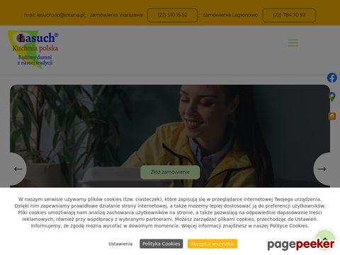 Łasuch - Dostawy obiadów do domu - Białołęka