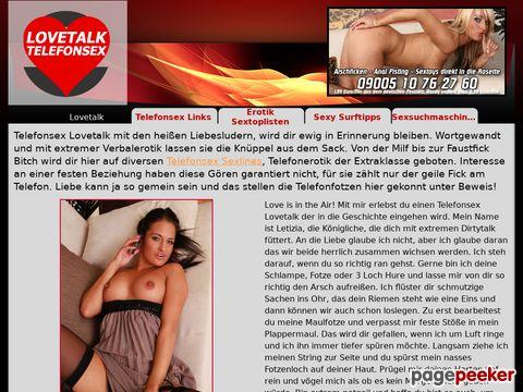Details : Telefonsex Lovetalk - Liebesluder an der Strippe