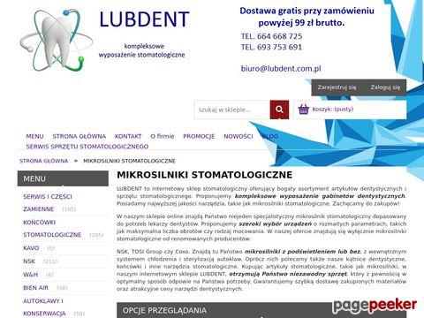 LubDent - mikrosilnik stomatologiczny