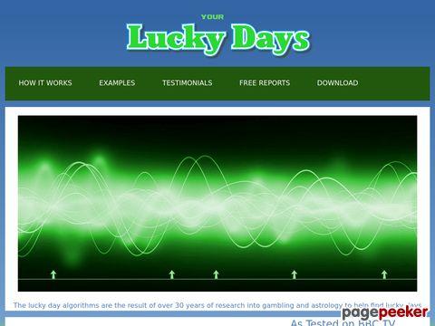 LuckyDays.tv Coupon Codes