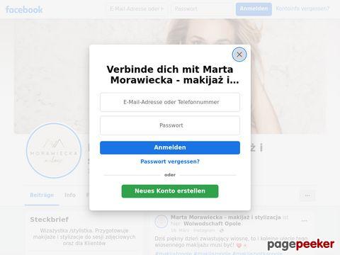 Marta Morawiecka wizaż