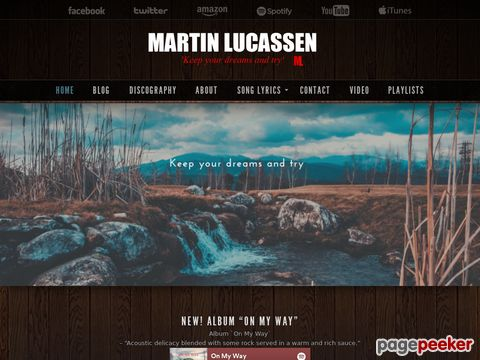 Screeshot of Free music from martin lucassen