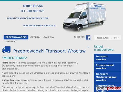 Removals Wrocław