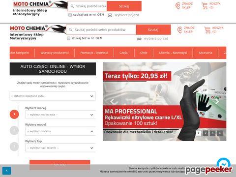 MotoChemia - oleje samochodowe, castrol, mobil