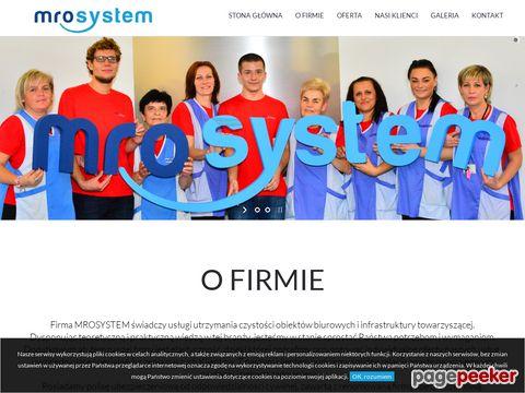 Mro-System - Sprzątanie Powierzchni Biurowych Firma Sprzatająca Poznań