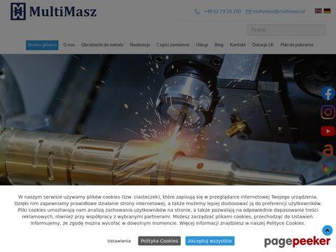 Remont i modernizacja maszyn i urządzeń w MultiMasz